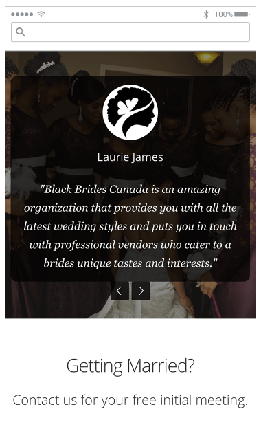 Black Brides Canada